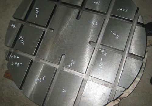 铸铁圆形工作台