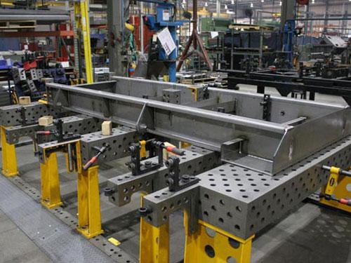 焊接平台厂家案例