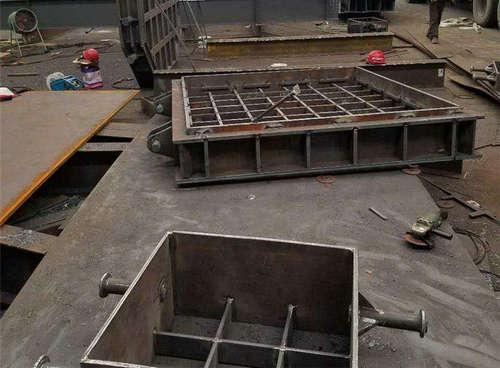 焊接砂箱案例